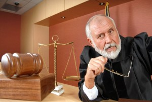 judge in a criminal case
