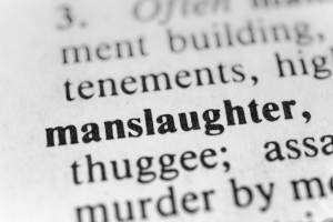 manslaughter charges